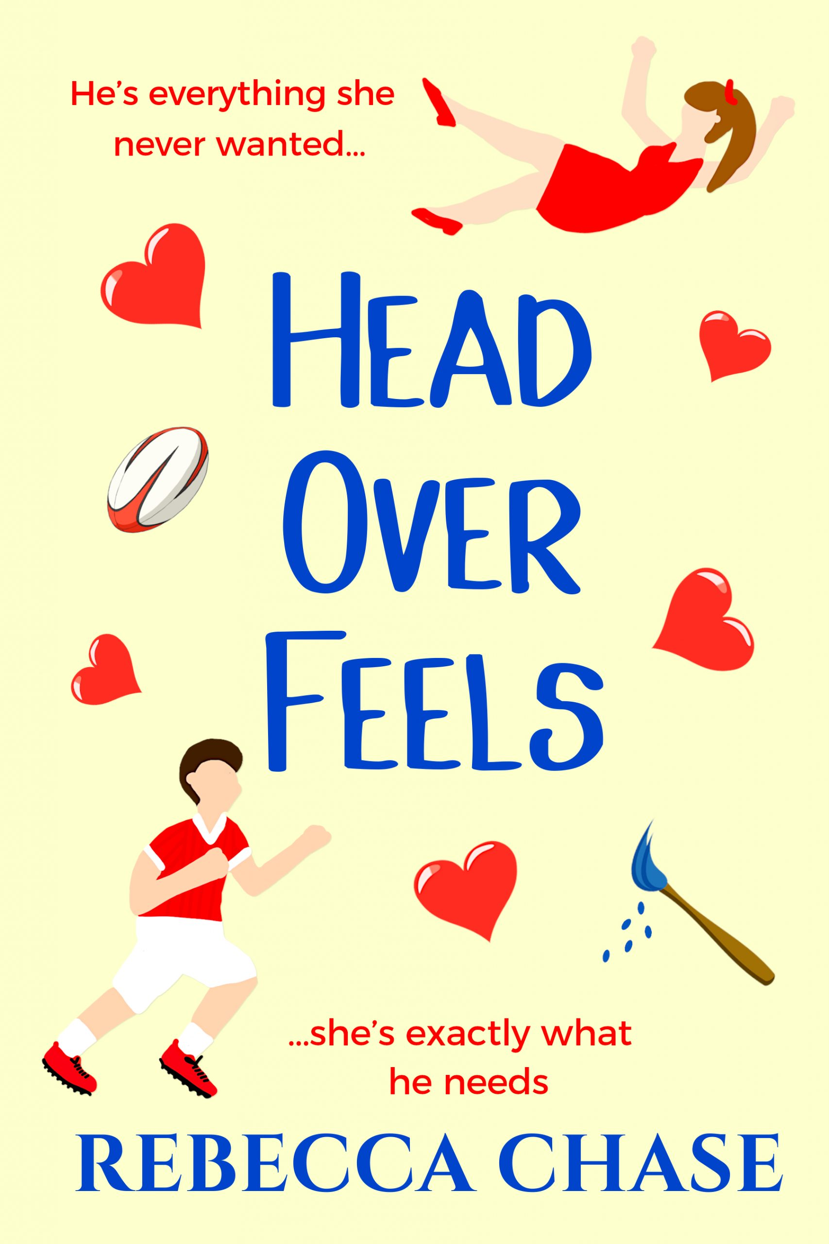 Head Over Feels contemporary romance debut novel